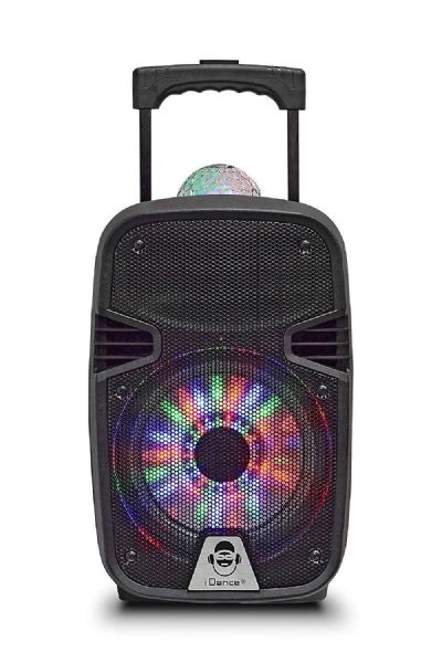 idance Groove 215 Party Machine 100w - Disco ball & Wireless Mic Inc - GR215
